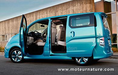 Nissan e-NV200 concept électrique