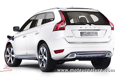 volvo xc60 t8 awd hybride rechargeable un concept pour inaugurer le vea. Black Bedroom Furniture Sets. Home Design Ideas