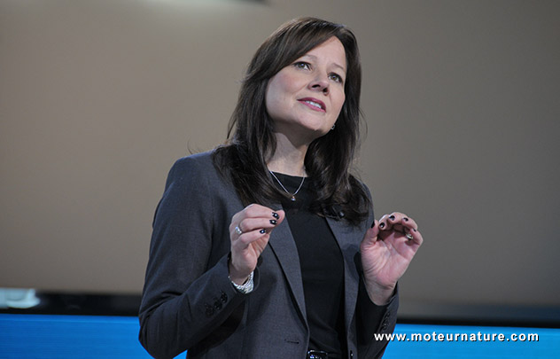 General Motors aux mains d'une femme