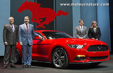 Un 4cylindres dans la Mustang, c'est le progrès
