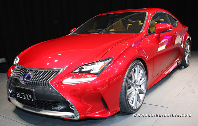 Lexus RC hybride