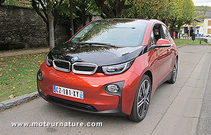 bmw i3 lectrique essai d taill. Black Bedroom Furniture Sets. Home Design Ideas