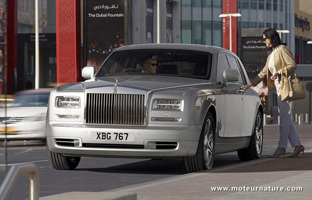 L'écologie selon Rolls Royce