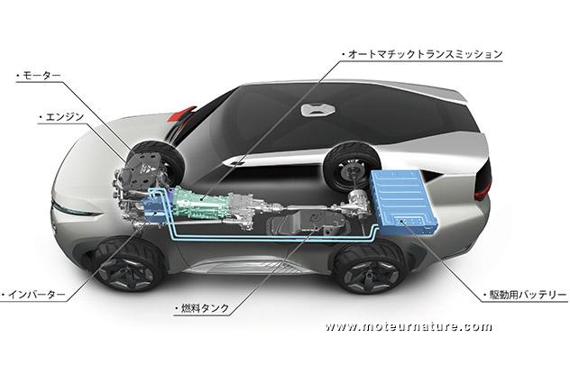 Mitsubishi GC concept hybride rechargeable