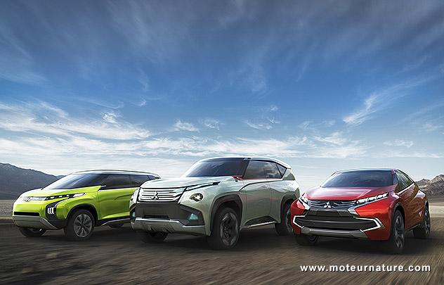 Mitsubishi concepts Tokyo 2013