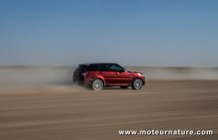 Land Rover Sport, pour là où la vitesse fait encore rêver