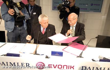 Evonik ne veut plus fabriquer de batteries