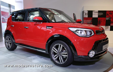 confirmation officielle de la kia soul lectrique. Black Bedroom Furniture Sets. Home Design Ideas