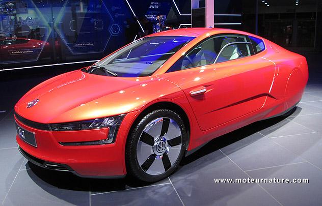 Scoop: une Volkswagen XL1 II est à l'étude