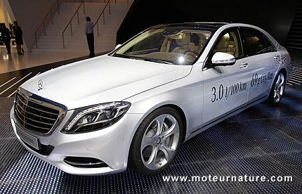 Mercedes classeS: le diesel hybride en 2014