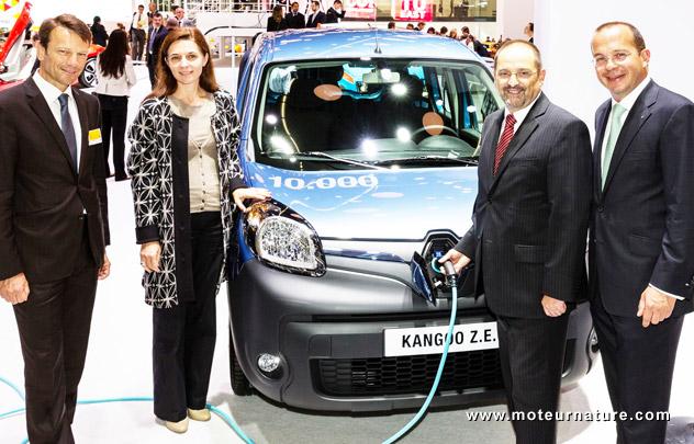 10000 Renault Kangoo Z.E.