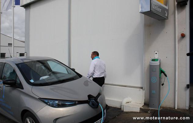 Recharge gratuite: Renault copie Tesla