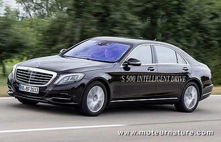 Mercedes S500 Intelligent Drive