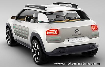 citro n c4 cactus hybrid air concept. Black Bedroom Furniture Sets. Home Design Ideas
