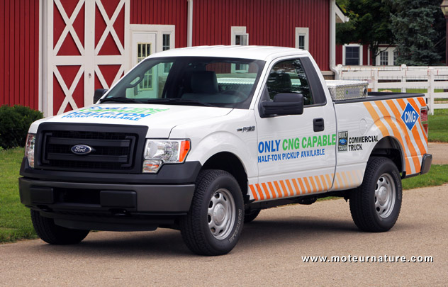 Ford F150 CNG pick-up