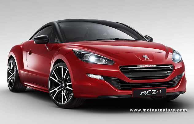 308 rcz r la plus puissante de toutes les peugeot. Black Bedroom Furniture Sets. Home Design Ideas