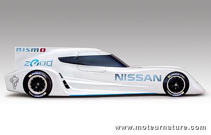 Nissan ZEOD électrique pour les 24 Heures du Mans
