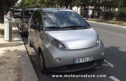 Bolloré Bluecar de l'Autolib à Paris