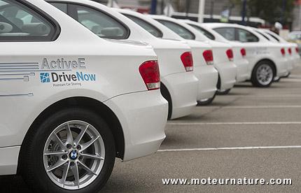 BMW ActiveE de DriveNow à Berlin