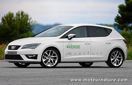 Prototype Seat Leon Verde hybride rechargeable