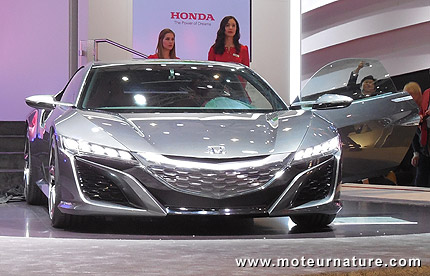 super car hybride honda