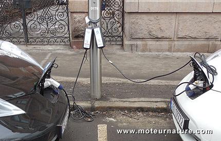 Voitures électriques à Oslo