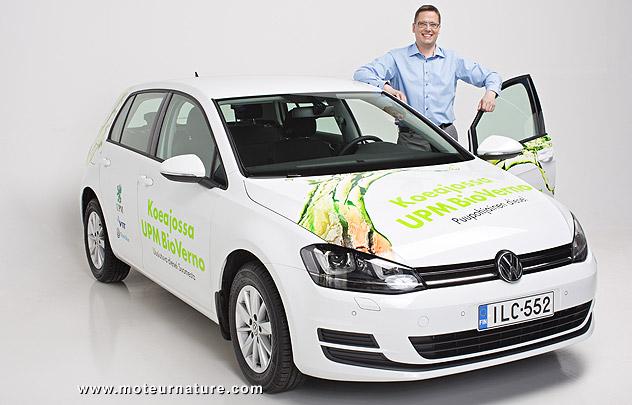 Volkswagen Golf au biodiesel