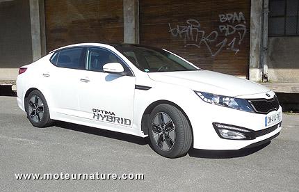Kia Optima hybride