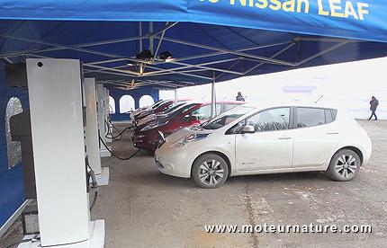 Nissan Leaf électrique
