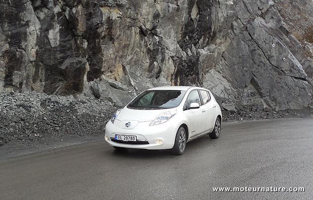 Nissan Leaf électrique en Norvège