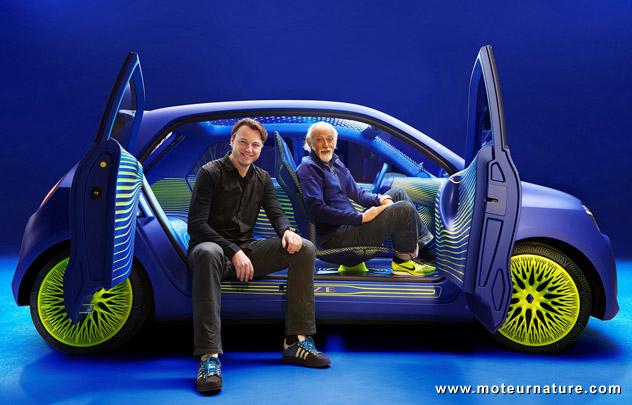 Concept Renault Twin'Z électrique