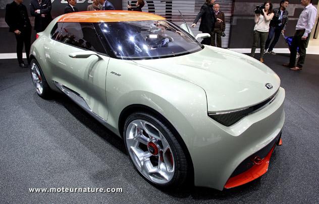 Kia Provo concept hybride