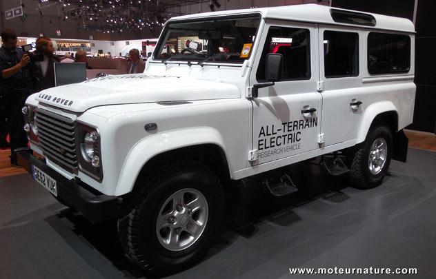 Land Rover concept électrique
