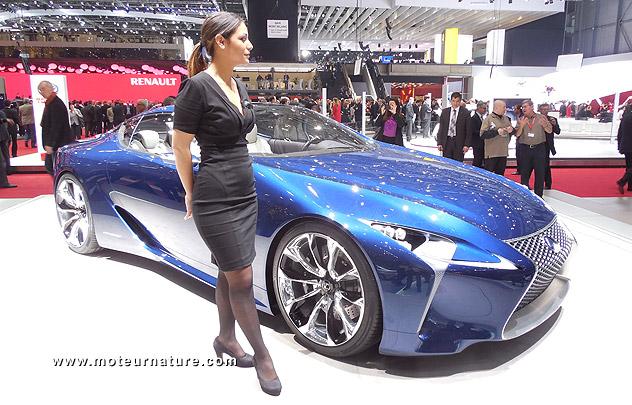 Lexus concept hybride
