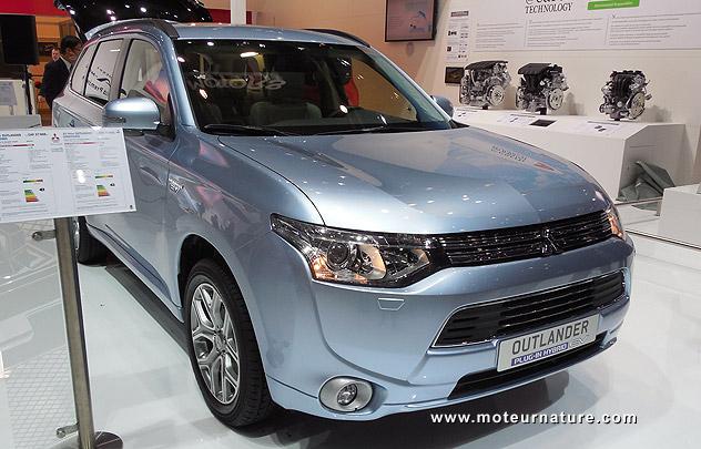Mitsubishi Outlander hybride rechargeable