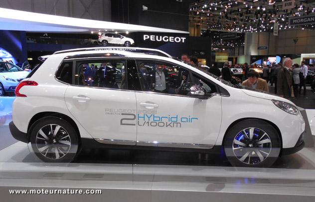 Peugeot 2008 HybridAir