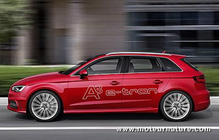 Audi A3 e-tron hybride rechargeable