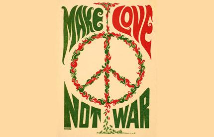 faites l'amour pas la guerre