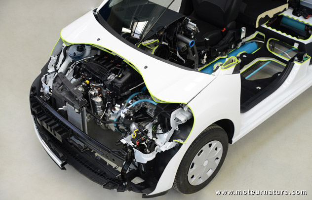 Technologie Hybrid-Air de PSA