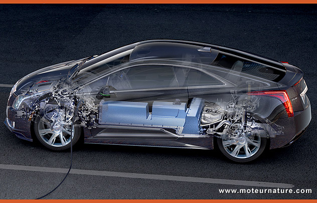 Cadillac ELR hybride rechargeable