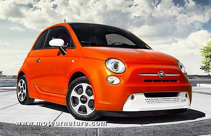 La Fiat 500e est la voiture la plus énergie-efficiente du monde