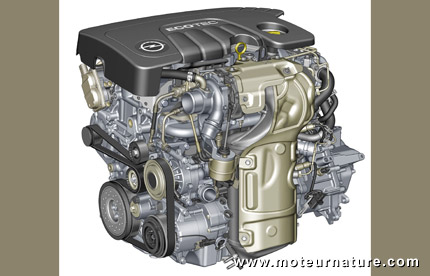 New Opel 1.6-liter diesel engine